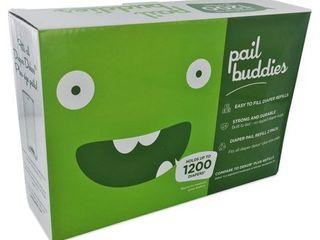 Pail Buddies Diaper Pail Refills For Diaper Dekor Plus Diaper Pails   2 Pack