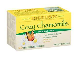 Box of 6 Bigelow  Cozy Chamomile Tea  Caffeine Free