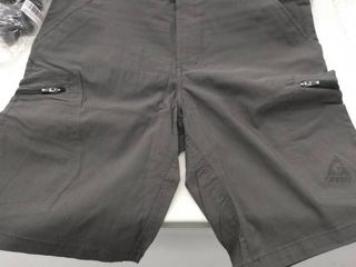 Gerry   Men s On The Go Cargo Shorts   Black   Size 34