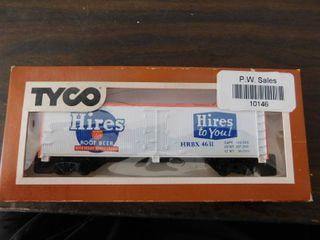 Tyco HO train car   Hires reefer car
