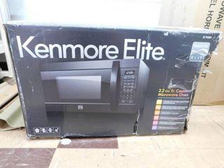 Kenmore Elite microwave 2 2cu ft