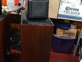 pair KEF speakers model 107