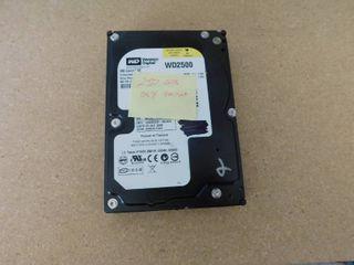 250 GB Western Digital hard drive