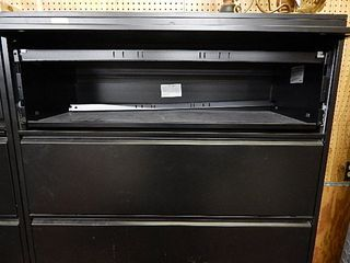 5 drawer lateral file cabinet   steel