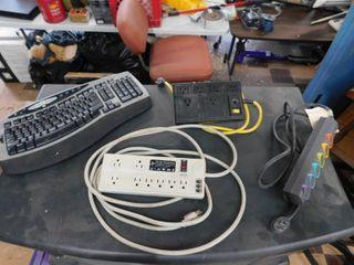power strips   keyboard