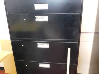 5 drawer lateral file cabinet   steel   HON