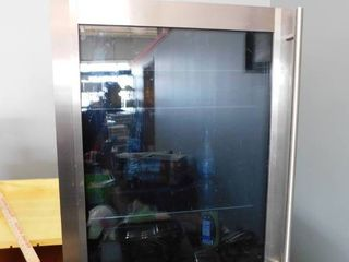 Glass door wine cooler   tested   works