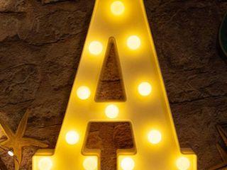 light up letter A