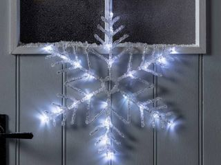 lED Snowflake Window Decoration