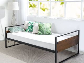 Twin Daybed Frame w  Steel Slat Support