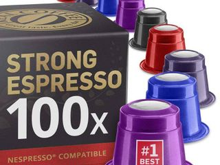 100 Capsules for Nespresso