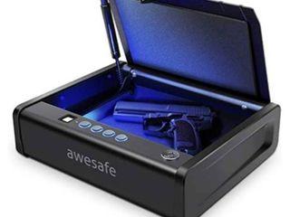 Biometric Pistol Safe