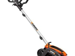 WORX WG896 12 Amp 7 5 in Electric lawn Edger  amp  Trencher  Orange and Black