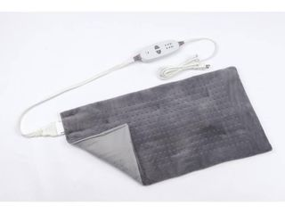 CAlMING HEAT 12 in  x 24 in  Massaging Weighted Heating Pad