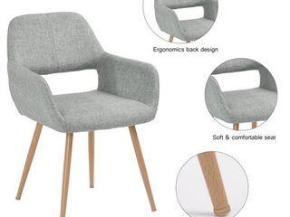 FurnitureR Catus Velvet Beech legs Dining Chair Cromwell  1 PC