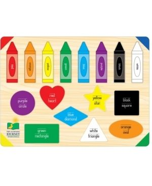 The learning Journey lift   learn Colors   Shapes 16pc