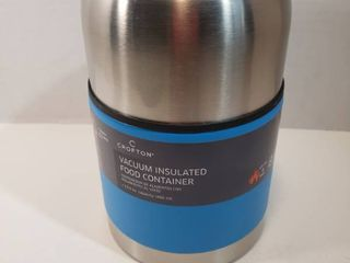 Vacuum Insulated Food Containers  includes spoon  13 5 oz Capacity
