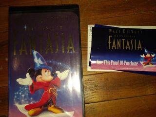 Walt Disney s masterpiece Fantasia original new in case