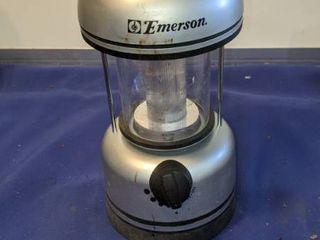 Emerson lantern needs battery untested