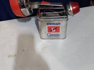 vintage flashlight untested needs new battery