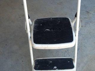 small folding Costco metal step stool