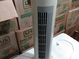 oval Tower fan works