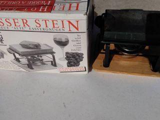 Heisser Stein hot rock griller