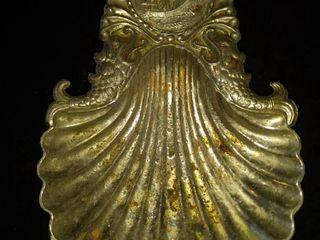 antique silver soap dish