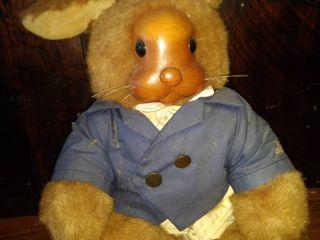 Robert Raikes rare wooden face boy bunny numbered