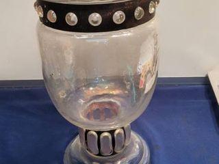 Silvestri mouth blown glass 14 1 2 by 9