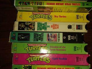 nine teenage mutant Ninja turtle movies and DVDs