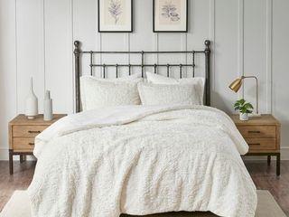 Madison Park Syracuse Ivory Ultra Plush Comforter Set   King Retail   126 99