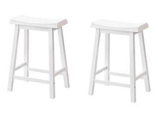 White 29a Barstool Set of 2   Retail    105 99