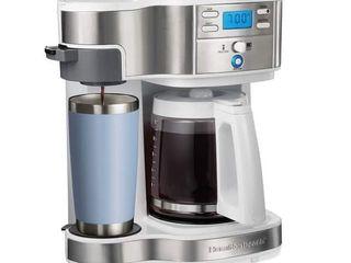 Hamilton Beach 2 Way Programmable Coffee Maker  Retail  75 99