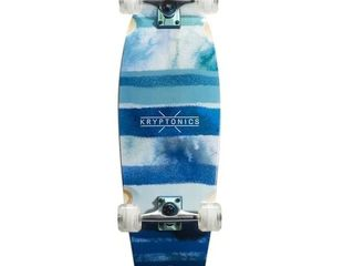 Kryptonics Super Fat Cruiser 30 5 inch x 9 75 inch Skateboard   Blue  Retail   75 99