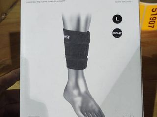 Wow Zamst Ss 1 lower leg calf Brace For Medial Stress Syndrome Right leg large