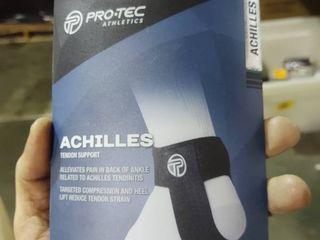 Pro tec Athletics Premium Achilles Tendon Support Small large