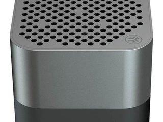 Jlab Audio Crasher Micro Ultra Portable Bluetooth 4 1 Wireless Speaker   IP54 Rated Splashproof Dustproof 10 Hour Battery 600 mAh   Gunmetal