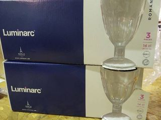 Pack Of 6 lens Walk Roman 14 Cl luminarc Glass 7 Cm luminarc