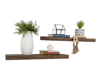 Del Hutson Designs True Floating Shelves 36  Set of 2