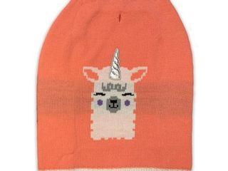 llama Printed Pink Dog Sweater  Medium