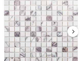 Gray lilac 1  x 1  Natural Stone Mosaic Subway Tile