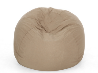 Rothrock Water resistant 4 5 foot Bean Bag by Christopher Knight Home   Tuscany