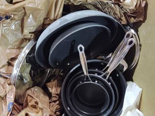 As Is   Pots and Pans Set  Appears Used