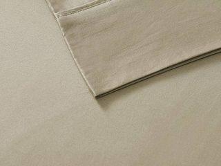Cotton Blend 6pc Sheet Set 800 Thread Count  Queen  Khaki