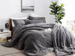 BYB Charcoal Coma Inducer Comforter   Queen Size