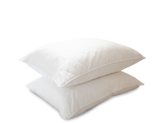 Eddie Bauer 2 Pack of liquiloft 230 TC Quilted Microfiber Pillows   Jumbo
