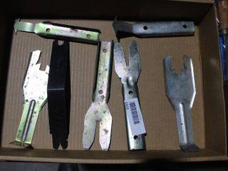 Automotive interior panel removal tools