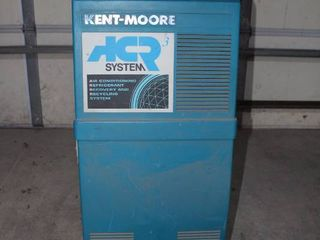 Kent Moore refrigerant recovery   recycle station