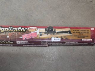 Sign Crafter sign maker for router